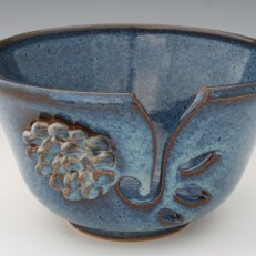 Flowered Yarn Bowl by Christine Stangel 2013