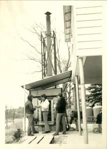 kiln build 1972