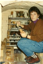 member inside kiln
